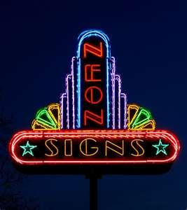 neon pole sign.97102313 std